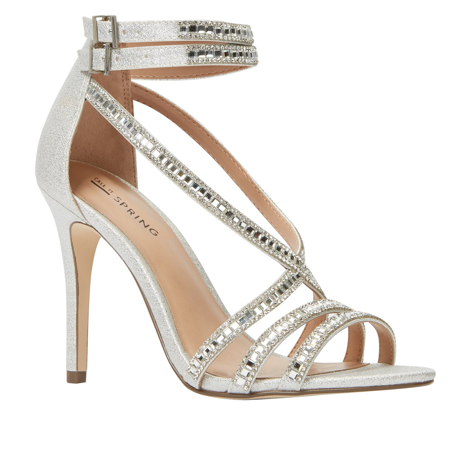 Call it Spring GAFFIGAN - High heeled sandals - silver